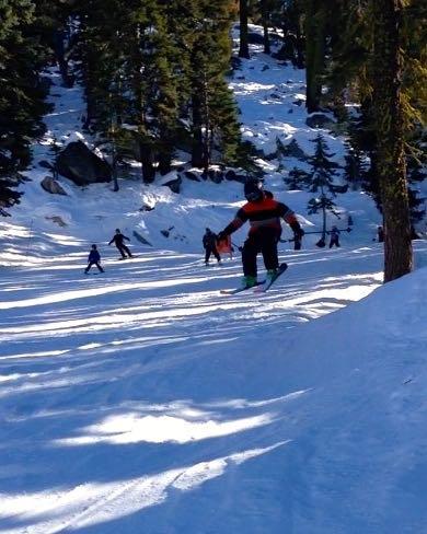 J skiing