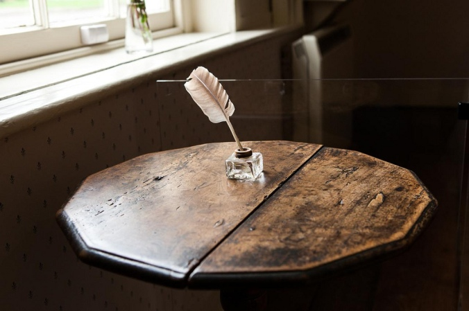 Jane Austen's Writing Desk by Holly Hayes